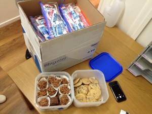 Karen's goodies for Sam